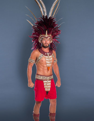 Bella Donna - Male with Additional Large Headpiece